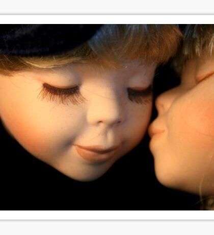 Affection by Porcelain Dolls Sticker