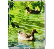 Ducks on a Tranquil Pond iPad Case/Skin