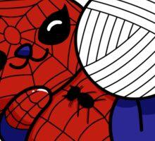 Spider Kitty Sticker