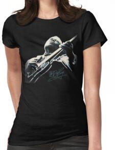 B B King T-Shirt Womens Fitted T-Shirt