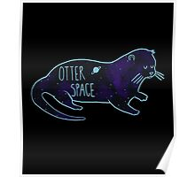 Otter Space Blues Poster