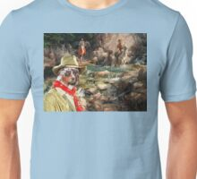 Australian Shepherd Art - Golden rush Unisex T-Shirt