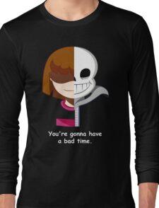 Undertale Sans VS Frisk Long Sleeve T-Shirt