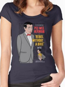 Rebel Without A Bike Women's Fitted Scoop T-Shirt