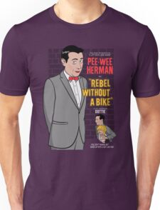 Rebel Without A Bike Unisex T-Shirt