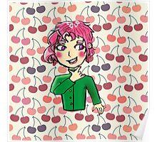 Smol cherry boy Poster