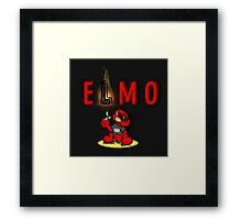 Tickle Me Emo Framed Print