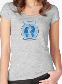 Betta Battle Women's Fitted Scoop T-Shirt