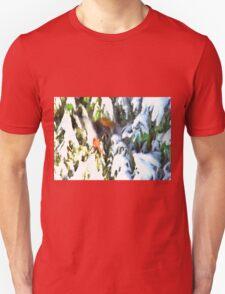 A Cardinal Winter Unisex T-Shirt