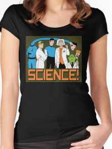 SCIENCE! Women's Fitted Scoop T-Shirt