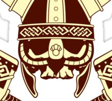 Viking skull v2 Sticker