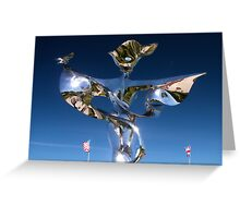 Normandy Sculpture Greeting Card