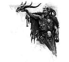 skull's wizard Photographic Print