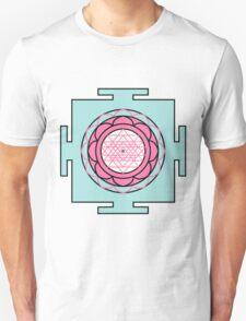 Yantra - cosmic conductor of energy. Yantra Sree . Sacred Geometry T-Shirt