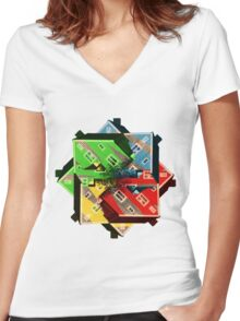 Cabin Women's Fitted V-Neck T-Shirt