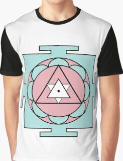 Yantra - cosmic conductor of energy. Yantra Sree . Sacred Geometry Graphic T-Shirt