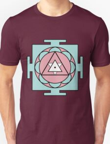 Yantra - cosmic conductor of energy. Yantra Sree . Sacred Geometry T-Shirt