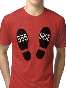 Al Bundy Dr Shoes Hotline Tri-blend T-Shirt