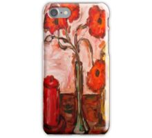 POPPIES WITH CANDLES iPhone Case/Skin