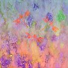 Orange Dragonflies A by Vitta