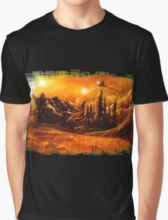 Doctor Who - Gallifrey & Doctor's Name Graphic T-Shirt