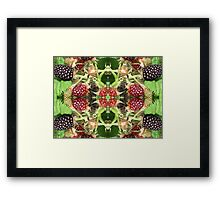 FRUIT PATCH Framed Print
