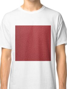 Red leather  Classic T-Shirt