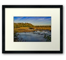 Newport Marshes Framed Print