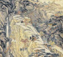 Shen Zhou Lofty Mount Lu Sticker