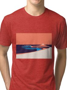 Lyme Regis - The Cobb Tri-blend T-Shirt