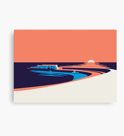 Lyme Regis - The Cobb Canvas Print