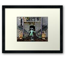 Ghost in a Madeira Mansion Framed Print
