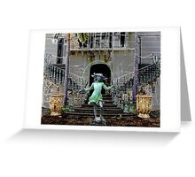 Ghost in a Madeira Mansion Greeting Card