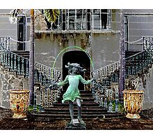 Ghost in a Madeira Mansion Photographic Print