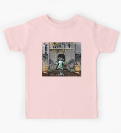 Ghost in a Madeira Mansion Kids Tee