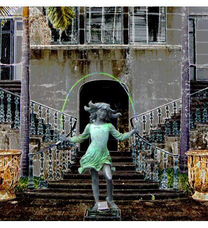 Ghost in a Madeira Mansion Sticker