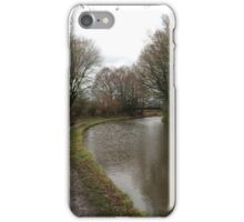 Canal in the North West of England  iPhone Case/Skin