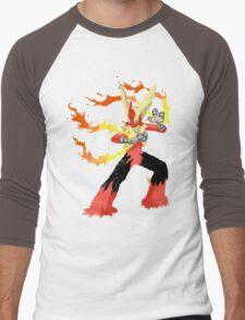 Pokemon - Mega Blaziken Men's Baseball ¾ T-Shirt
