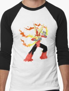 Pokemon - Mega Blaziken Men's Baseball ¾ T-Shirt