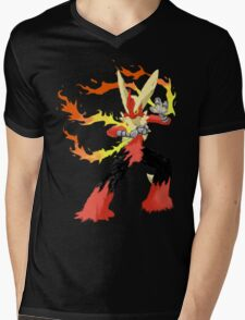 Pokemon - Mega Blaziken Mens V-Neck T-Shirt
