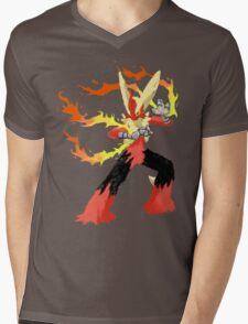 Pokemon - Mega Blaziken Mens V-Neck T-Shirt