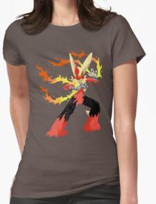 Pokemon - Mega Blaziken Womens Fitted T-Shirt