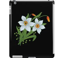 Tulips and Daffodils Flowers iPad Case/Skin
