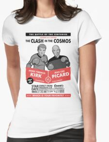 Captain vs. Captain Womens Fitted T-Shirt