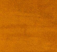 Orange leather texture  Sticker