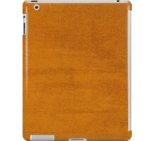 Orange leather texture  iPad Case/Skin