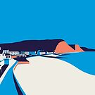 Sidmouth Seascape by Stephen Wildish