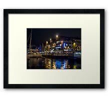 Tromso Quayside Framed Print