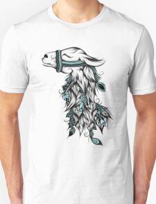 Poetic Llama  Unisex T-Shirt