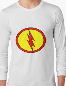Hero, Heroine, Superhero, Super Flash Long Sleeve T-Shirt